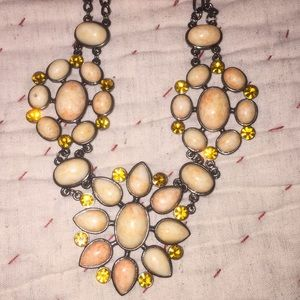 Boutique Beaded Rhinestone necklace